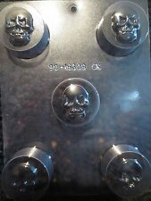 SKULL COOKIE MOLD molds Chocolate Candy skulls oreo covered day of the dead CK