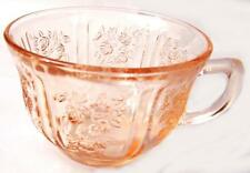 1930s Pink Federal Sharon Cabbage Rose Cup