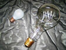 große alte Glühbirne, 1000 W E 40  Art Deco Länge 27 cm