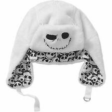 Mens Jack Skellington NIGHTMARE Before CHRISTMAS Aviator Trapper Hat Beanie NEW