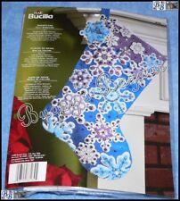 Bucilla SNOWFLAKE Stocking Felt Applique Christmas Stocking Kit – 2009 - 86184