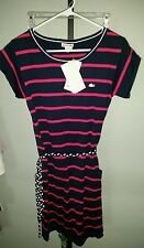 NWT $155 LACOSTE DRESS WITH BELT SIZE 38 MEDIUM FREE SHIPPING!