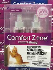 COMFORT ZONE WITH FELIWAY Cat Diffuser REFILL 2 PACK