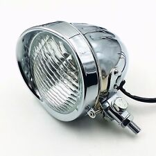 60W /55W High /Low Beam Head Light Headlight Lamp Bobber Chopper Cruiser Tourin