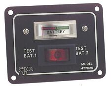 Aluminium Battery Test Switch Panel Seaworld Boats Maritime