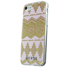 GUESS COQUE ARRIÈRE RIGIDE 3D TRIBAL AZTEC ROSE CLAIRE TPU GUHCP7TGPI iPhone 7