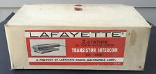 Vintage Set of Lafayette Intercoms Model 99-4621 NEW IN BOX wired?
