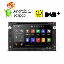 "7"" 2 DIN Quad Core Android 5.1 Car DVD CD Stereo GPS OBD2 For VW Jetta Golf MK4"