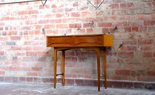 #SALE# TEAK HALL / CONSOLE TABLE -  Retro Mid Century Eames Ladderex Style