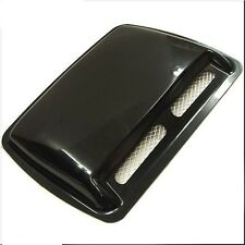 CAR ROOF HOOD AIR FLOW SCOOP DECORATION VENT COVER BLACK