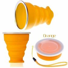 Folding Water Tool Tea Coffee Telescopic Collapsible Cup Silicone Travel