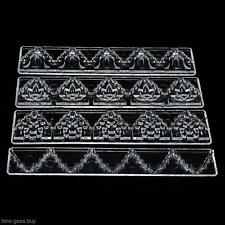 Family Baking Biscuit Plastic Cake Decorating Supplies Press Mold Fondant Tool