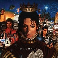 Michael 2010 by Michael Jackson . EXLIBRARY *NO CASE DISC ONLY*