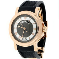 Breguet Marine Rose Gold Big Date 39MM Roman Dial Automatic 5817BR/Z2/5V8 $22000