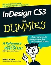 NEW - InDesign CS3 For Dummies by Gruman, Galen
