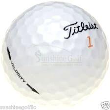 50 NEAR MINT Titleist Velocity AAAA Used Golf Balls