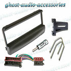 Ford Focus Black Facia Fascia Car CD Radio Fitting Kit Stereo Adaptor Panel