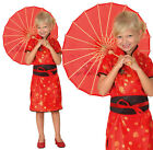Childrens Kids Chinese Girl Fancy Dress Costume Oriental Japanese Outfit 3-10 Yr