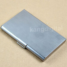 Stainless Steel Pocket Business Name Credit ID Card Case Metal Box Holder Hot