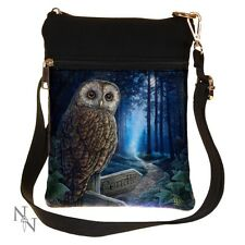 SHOULDER BAG OWL THE WAY OF THE WITCH LISA PARKER SMALL NEMESIS NOW LADIES NEW