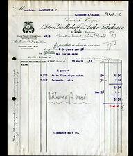 """SAINT-FONS (69) PRODUITS CHIMIQUES """"ACTIEN GESELLSCHAFT fûr ANILIN"""" en 1912"""