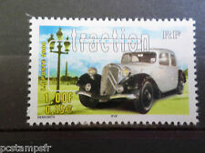 FRANCE 2000, timbre 3318 VOITURES ANCIENNES CITROEN TRACTION neuf**, CAR STAMP
