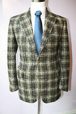 Holland & Holland London Plush Alpaca Nylon Two Button Sport Coat 40 R Jacket