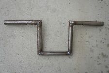 """8"""" Tall 1"""" Thick Z-Bars Harley Sportster Forty Eight Dyna Bobber Chopper Ape Raw"""
