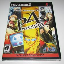 Shin Megami Tensei Persona 4 With Soundtrack for Playstation 2 Brand New!