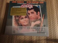 Grease 25th Anniversary Soundtrack Deluxe 2 CD set sealed NEW RARE OOP OST
