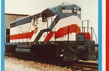 """CHICAGO AND NORTHWESTERN """"1776"""" a GP-18 in patriotic red, white and blue"""