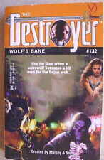 DESTROYER #132 Wolf's Bane Warren Murphy Richard Sapir 1st 2003 L@@K WOW!!!