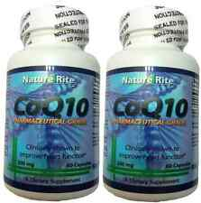 CoQ10 co-enzyme Q10 200mg 120 Capsules ~ Kosher ~ Japanese Ingredients CoQ-10 CO