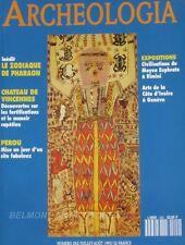 Archéologia n°292 - 1993 - Chateau de Vincennes - les temples japonnais -