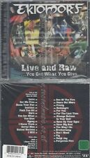 CD--EKTOMORF--LIVE AND RAW-YOU GET WHAT YOU GIVE | CD+DVD