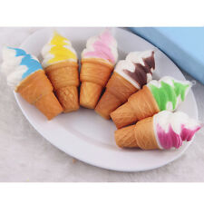 Lovely Soft Jumbo Ice cream Squishy Cellphone Kawaii Charms Straps Gifts Cool