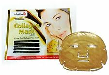 30 x New Infinitive Beauty Crystal 24K Gold Gel Collagen Face Masks Sheet Patch