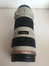 Canon EF 70-200mm f/4 L USM Ultrasonic Auto Focus Zoom Lens. Free shipping.