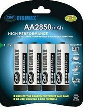 Digimax * 4 X 2850 Mah Recargables Aa batteries-ni-mh