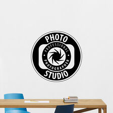 Photo Studio Wall Decal Photography Vinyl Sticker Camera Decor Art Poster 97hor