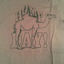 HUMP DAY CAMEL brown T-Shirt funny MEN'S X-SMALL