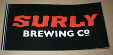 SURLY BREWING CO Logo STICKER decal craft beer brewery abrasive darkness