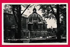 Unposted card. The Memorial Hall, Eaton College, Oxford, Oxfordshire