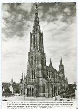 Black & White Postcard of Munster Cathedral Germany