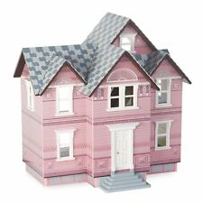 Melissa and Doug Victorian Dollhouse Kit - 1 in. Scale, White