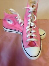 Converse All Star Chuck Taylor High Tops -  Pink - Women's 10 Mens 8 Nice!!