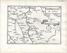 Antico mappe, gouvernement DE LISIEUX