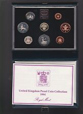 1984 United Kingdom Great Britain Proof Coin Set UK D-968