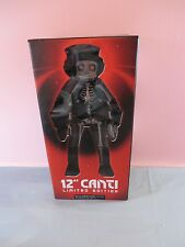 "FLCL Fooly Cooly Anime 12"" CANTI VINYL TOY FIGURE ART KIDROBOT DUNNY SKELETON"