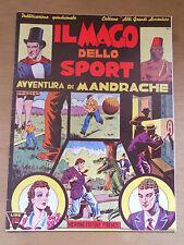 712D - IL MAGO DELLO SPORT AVVENTURA DI MANDRACHE ED. NERBINI